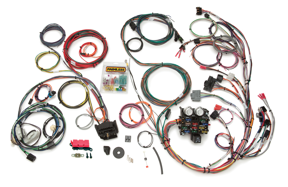 23 Circuit Direct Fit Jeep YJ Harness | Painless PerformancePainless Wiring