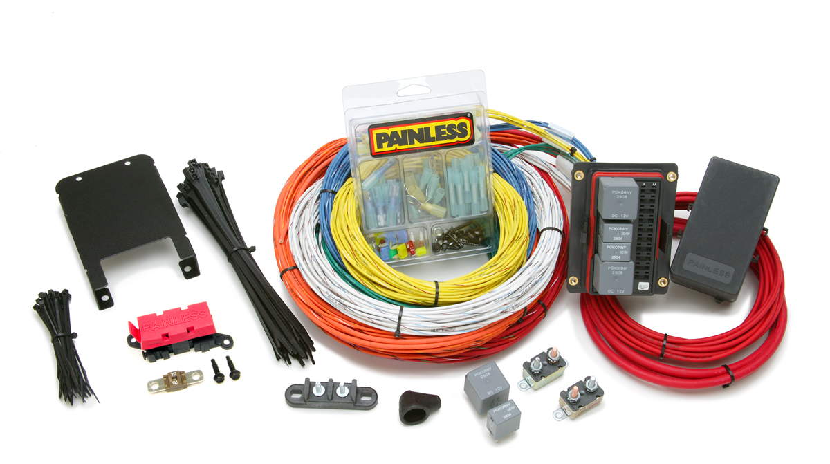 [DIAGRAM_38DE]  15 Circuit Customizable Extreme Off-Road Harness | Painless Performance | 10 Painless Wiring Harness |  | Painless Wiring