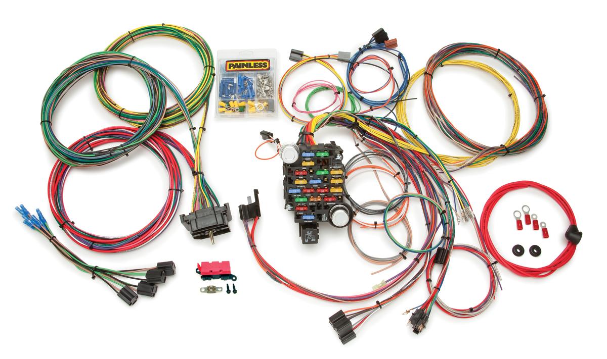 28 Circuit Classic-Plus Customizable 1967-72 GMC / Pickup Truck ... race car wiring Painless Wiring