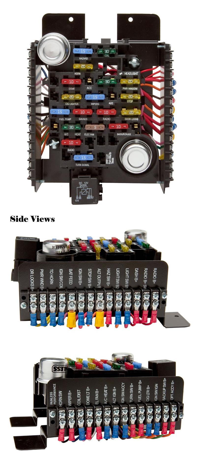 Painless Wiring Diagram - Wiring Diagram 500 on painless wiring kits, painless wiring systems, painless wiring for 68 camaro, painless 5 3 harness, painless wiring 81, painless wiring tool,