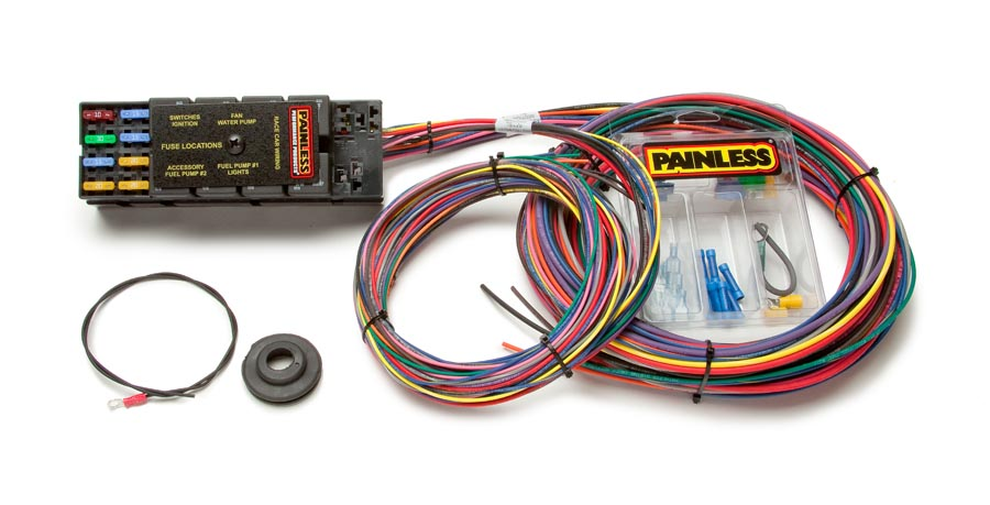 10 circuit race only chassis harness | painless performance  painless wiring